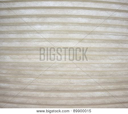 pattern of striped horizontal beige folds