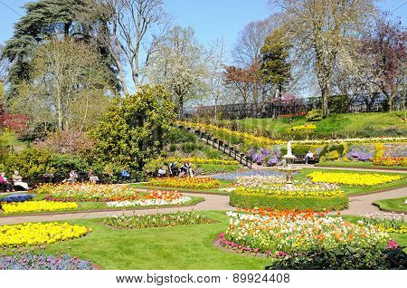 The Dingle in Springtime, Shrewsbury.