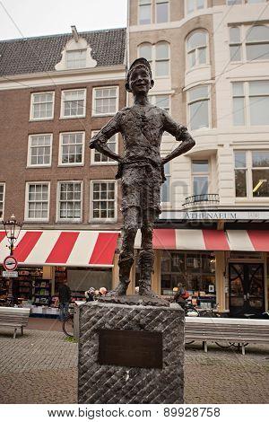 Het Lieverdje In Amsterdam