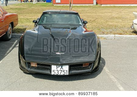 Corvette Indy Pace In Black