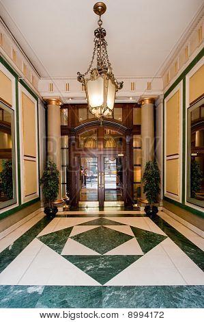Luxurious entrance