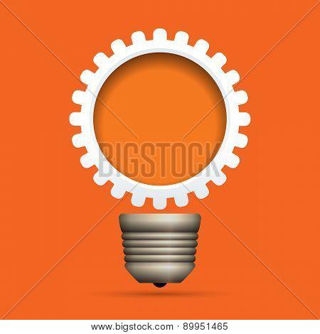 Gear Bulb Copyspace