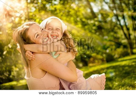 Happiness - mother with her child