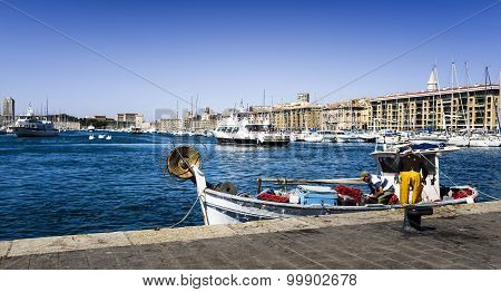 Fishermans In The Old Port