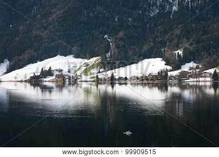 Lake Scene, Switzerland
