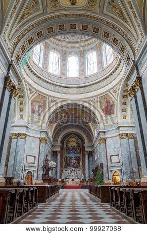 Esztergom Basilica interior, Hungary
