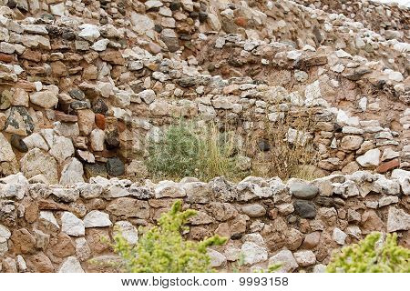 Tiers Of Ancient Walls