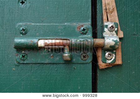 Exterior Basement Door Latch
