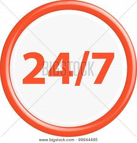 Button 24/7