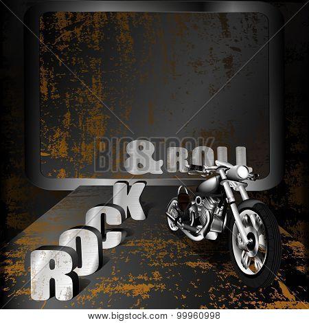 Iron Background Music And Motorbike