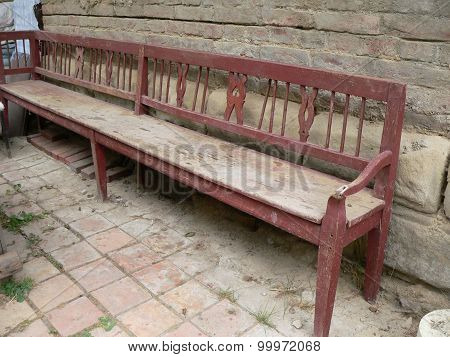 historical bench