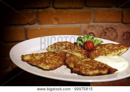 Roasted Potato Flapjacks