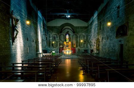 San Michele Church In Arezzo, Tuscany