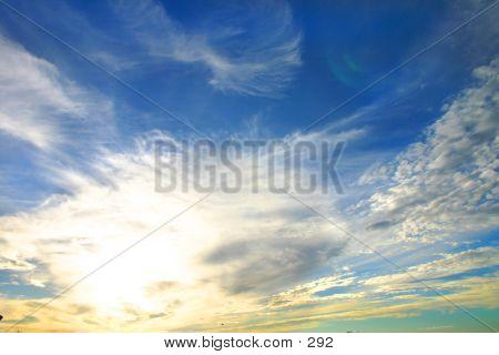 Pretty Blue Sky