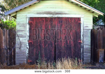 Beat Up Shed