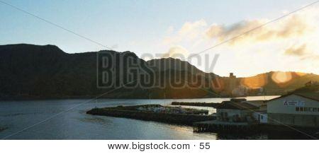Midnight Sun In Norway