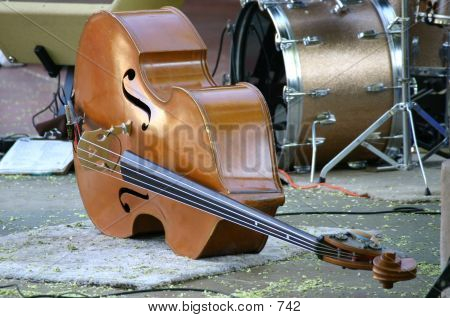 Stand Up Bass Lying Down