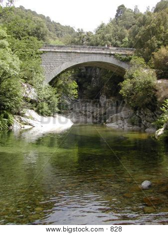 Corsica - Bridge In The Mountains