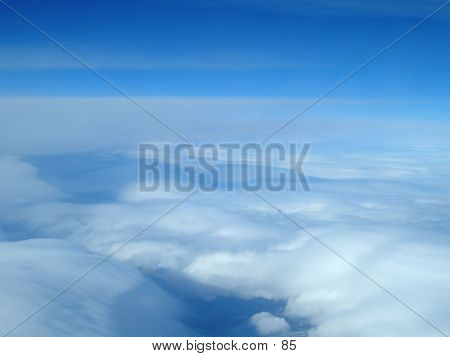 Clouds At 30000 Feet