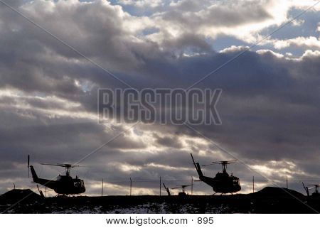 Helicopter Nightfall