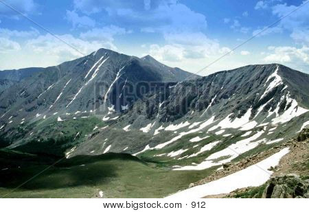Loveland Pass of the Colorado Rockies poster