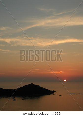 Corsica - Sunset (Vertical)