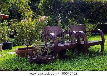 Old Chair on Garden