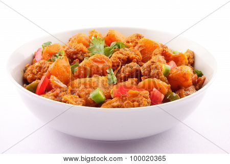 Famous Indian curry dish -Aloo Gobi