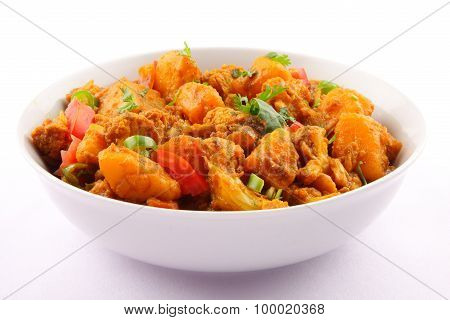 Traditional vegetable Aloo gobi ,