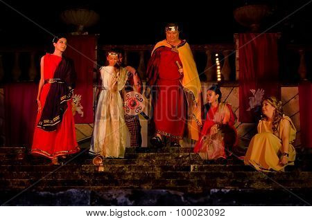 The Performance Of King Mithridates