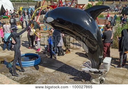 Whale Show At Dismaland, Weston-super-mare