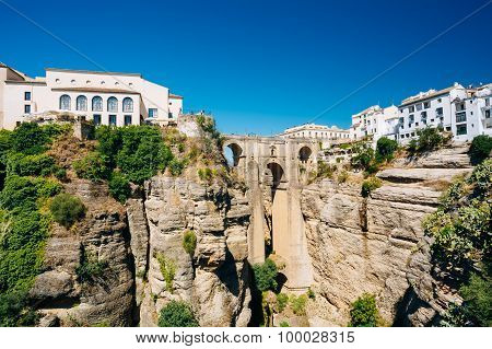 The Puente Nuevo - New Bridge in Ronda, Spain