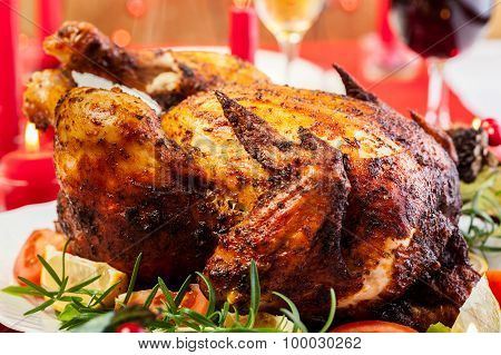 Baked Chicken For Christmas Dinner
