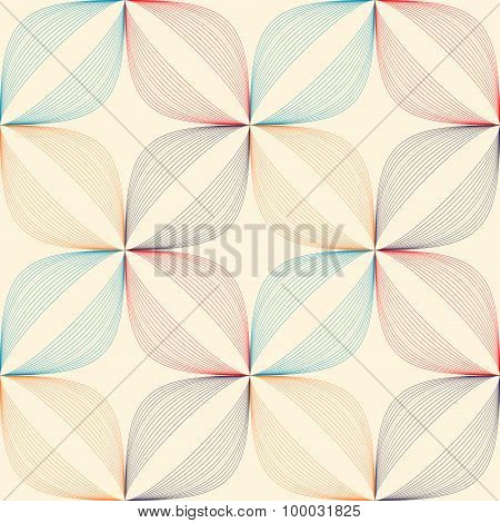 Geometric Color Pattern.