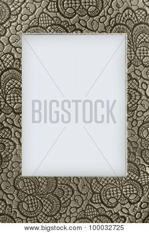 beige lace background