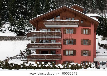 Luxury Hotel, Klosters, Switzerland