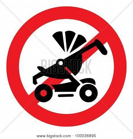 icon ban stroller