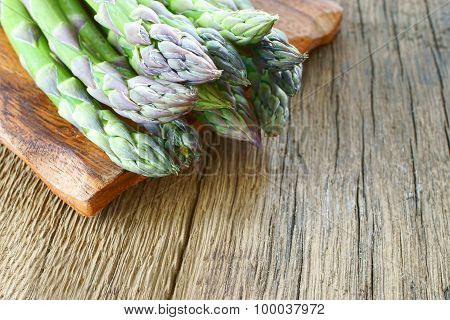 Green Asparagus From Market