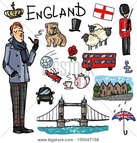 Travelling attractions - England