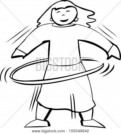Hula Hoop Exercise Outline