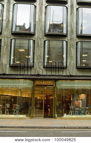 Mulberry Flagship Store, New Bond Street, London