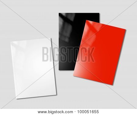 Booklets Mockup Template