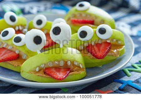 Spooky Halloween party monsters