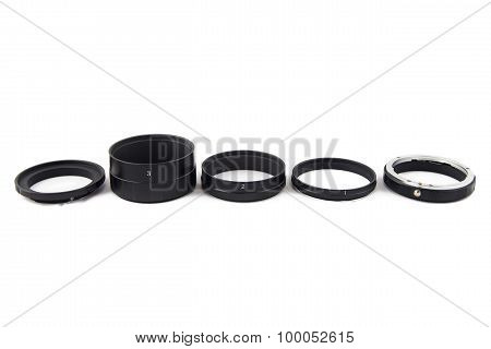 Photo of sorted macro rings