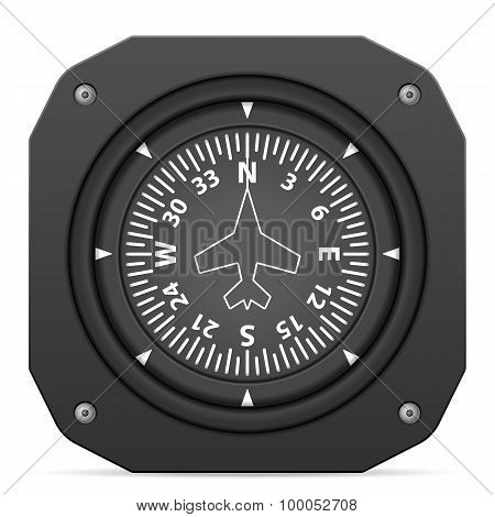 Flight Instrument Heading Indicator