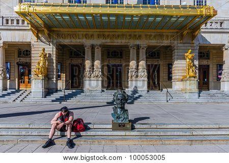 August Strindberg bust