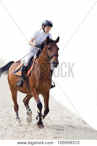 Young Female Rider