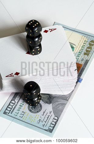 Cards, dice and dollars