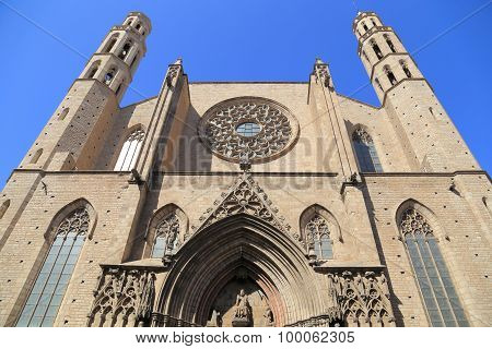 Church In Barcelona.