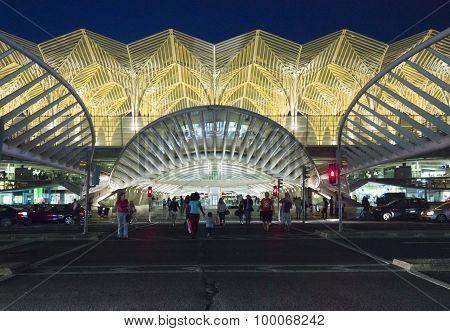 Entrance Gate Of Vasco Da Gama Shopping Center